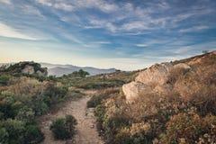 Natura widok w górach Fotografia Royalty Free
