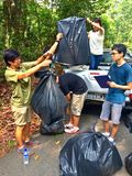 Natura wolontariusza praca Fotografia Royalty Free