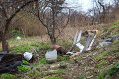 Ökologieabfall, Abfall Lizenzfreies Stockbild