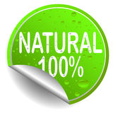 Natural. Recycle icon illustration on white background Royalty Free Stock Photo