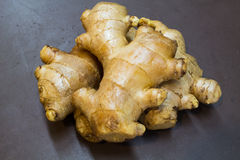 Natural. Ginger is herb for health Royalty Free Stock Photography