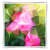 Natural Abstract Background With Triangles Royalty Free Stock Photography
