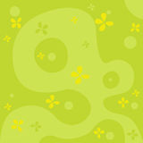 Natural abstract green background vector Royalty Free Stock Images
