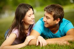 Natural affection Royalty Free Stock Photo
