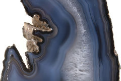 Natural agate texture Royalty Free Stock Image