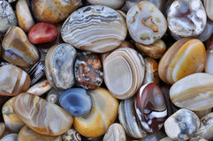 Natural Agate stock photography
