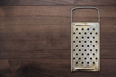 Natural aged old rusted grater Stock Photography