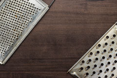 Natural aged old rusted grater Royalty Free Stock Images