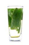 Natural alovera juice Royalty Free Stock Image