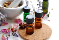 Natural apothecary Stock Photos