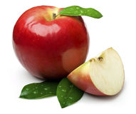 Natural apple Stock Images