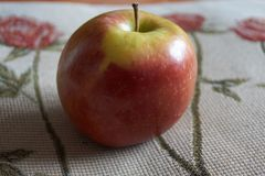 Natural apple nutritive and good stock photos