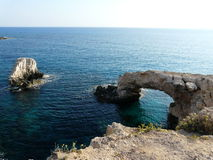 Natural arc. In Mediterranian sea (Cyprus Stock Photo