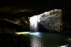 Natural Arch. Located in the Gold Coast Hinterland is Natural Arch Stock Photos