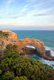 Natural Arch. A natural rock arch, Southern Victoria, near the Twelve Apostles, one of Australia's premier tourist attractions Royalty Free Stock Photo