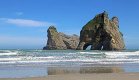 Natural arch of Archway Island Stock Images