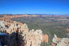Bryce Canyon, Utah. Natural Arch in Bryce Canyon National Park Stock Image