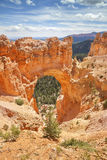 Natural Arch in Bryce Canyon National Park, Utah. Royalty Free Stock Image