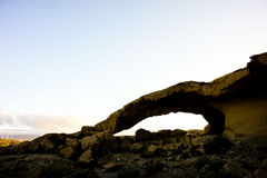 Natural Arch in the Desert Stock Images