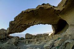 Natural Arch in the Desert Stock Photos