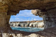 Natural Arch, Rock, Sea Cave, Formation Royalty Free Stock Image
