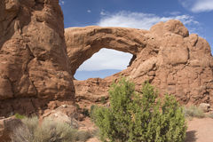 Natural Arch, Utah Stock Photography