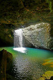 Natural Arch Waterfall royalty free stock image