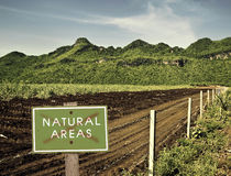 Natural areas Stock Image