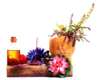 Natural aroma spa Stock Photos