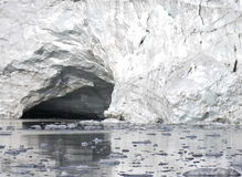 Natural artic cave Stock Images