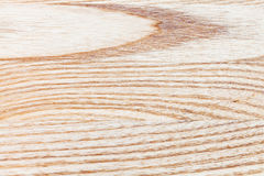 Natural ash wood board Royalty Free Stock Photography