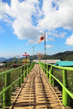 Natural attractions and accommodation in Mae Hong Son province in Thailand. Stock Photography