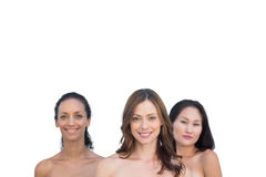 Natural attractive nude women posing Royalty Free Stock Photography