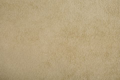 Natural background - beige suede Royalty Free Stock Photos