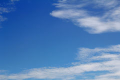 Natural Background With Blue Sky Cloud. Royalty Free Stock Image