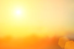 Natural background blurring.warm colors and bright sun light. bo Stock Photos