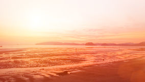 Natural background blurring.warm colors and bright sun light. bo Royalty Free Stock Photography