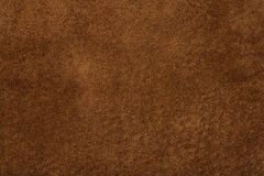 Natural background - brown suede texture. Brown suede useful as natural background or texture Royalty Free Stock Image