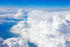 Natural background: cloudy sky Royalty Free Stock Images