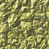 Natural background with detailed green, yellow and gray rock structure Royalty Free Stock Photo