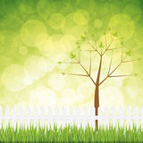 Natural background. Fresh spring background.Nature vector vector illustration