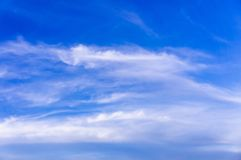 Beautiful blue sky and clouds