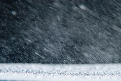 Natural background with rain snowstorm Royalty Free Stock Image