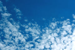 Natural background, sky landscape and clouds Stock Images