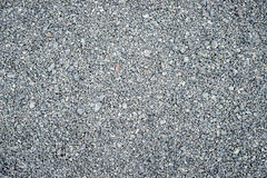 Natural background. Texture of fine gray gravel, on the whole frame. Horizontal frame Royalty Free Stock Images