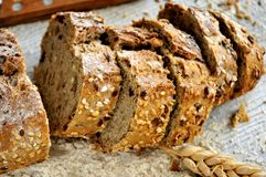 Natural bake piece nutrition healthy bakery Stock Photography