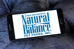 Natural balance pet food logo Stock Photography