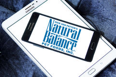 Natural balance pet food logo Royalty Free Stock Photos