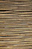 Backgroundl bamboo blind pattern. wooden courtain. Natural bamboo blind asia style Covering a window Royalty Free Stock Photography