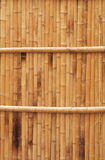Natural bamboo fence texture Royalty Free Stock Photo